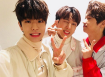 Seungmin, Changbin and Felix IG Update 180114 (2)