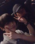 I.N and Hyunjin IG Update 180721