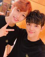Woojin and Felix IG Update 180805