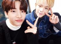 Hyunjin and Woojin IG Update 180203