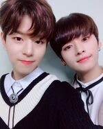 Seungmin and Lee Know IG Update 181110