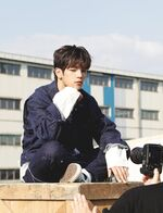 Woojin I am YOU Music Video Shooting Behind
