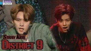 HOT Stray Kids - District 9, 스트레이 키즈 - 디스트릭트 나인 Show Music core 20180331