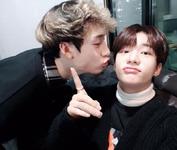 Hyunjin and Bang Chan IG Update 180203