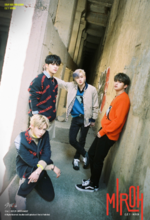 Woojin, Bang Chan, Lee Know and Felix Clé 1 Miroh Promo Picture