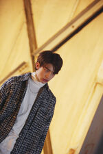 Hyunjin Grr Law of Total Madness Performance Video Shooting Behind (1)