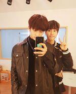 Hyunjin and Han IG Update 180723