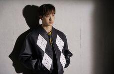 Bang Chan SKZ2020 Jacket Shooting Behind (2)
