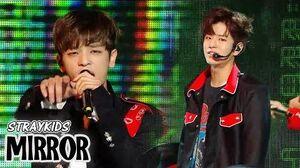 HOT Stray Kids - Mirror, 스트레이 키즈 - 미러 Show Music core 20180428