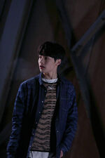 Jeongin Grr Law of Total Madness Performance Video Shooting Behind (1)