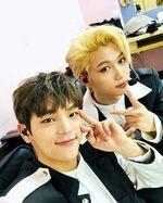Woojin and Felix IG Update 180502 (2)