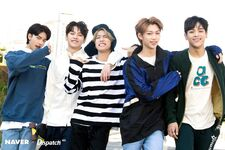 Woojin, Felix, Lee Know, Han and Hyunjin Naver x Dispatch (2)