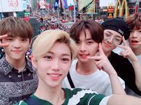 Felix, Woojin, Lee Know, I.N and Seungmin IG Update 180711