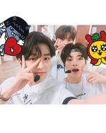 I.N, Hyunjin and Seungmin IG Update 180628 (1)