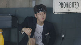 Seungmin Awkward Silence Music Video Shooting Behind (2)