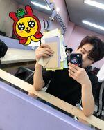 Seungmin IG Update 180501 (2)