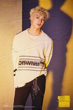 Bang Chan Clé 2 Yellow Wood Promo Picture (1)