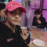 Hyunjin Lee Know Seungmin IG Update 20190404