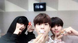 Seungmin, Hyunjin and I.N IG Update 180614 (6)