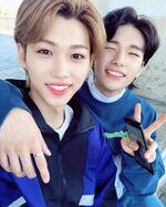 Felix and Hyunjin IG Update 181031