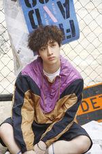 Bang Chan I am WHO Jacket Shooting Behind (1)