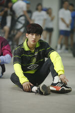 Changbin My Pace Music Video Shooting Behind (2)