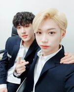 Changbin and Felix IG Update 180505 (1)