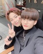 Hyunjin and I.N IG Update 181202