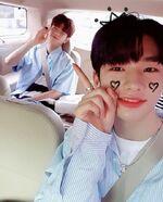 Hyunjin and Seungmin IG Update 180529
