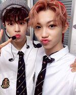 Felix and Seungmin IG Update 180901 (1)