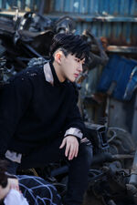Changbin I am NOT Jacket Shooting Behind (1)