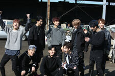 Stray Kids I am NOT Jacket Shooting Behind