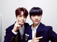 Hyunjin and Seungmin IG Update 180506