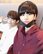Woojin and Hyunjin IG Update 180914