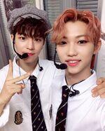 Felix and Seungmin IG Update 180901 (2)