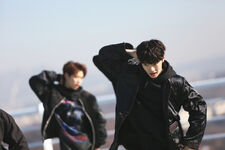 Jeongin Young Wings Performance Video Shooting Behind (2)