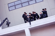 Stray Kids Young Wings Performance Video Shooting Behind (1)