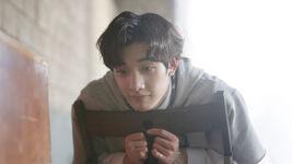 Bang Chan Awkward Silence Music Video Shooting Behind (2)