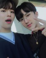 Seungmin and Changbin IG Update 181005
