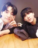 Hyunjin and Changbin IG Update 180622