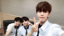 Seungmin, Hyunjin and I.N IG Update 180614 (2)