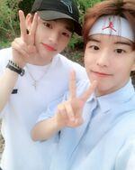 Seungmin and Hyunjin IG Update 180608