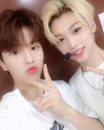Seungmin and Felix IG Update 180805