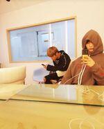 Hyunjin and Woojin IG Update 180723