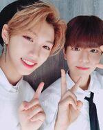 Felix and Seungmin IG Update 181029 (1)
