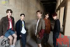 Changbin, Hyunjin, Han, Seungmin and I.N Clé 1 Miroh Promo Picture