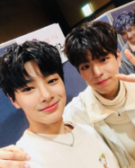 I.N and Seungmin IG Update 180112