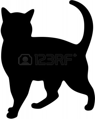 6728166-black-cat-silhouette