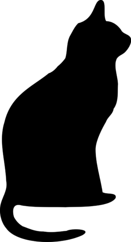 File:16547-illustrated-silhouette-of-a-black-cat-pv.png