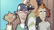 Shark with Hammer, Headbutt and Sudsy